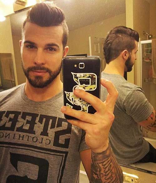 Cool Haircut For Men Shaved