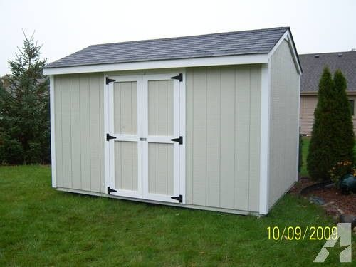 12 x 8 Storage shed for Sale in Prairie Grove, Illinois Classified   AmericanListed.com