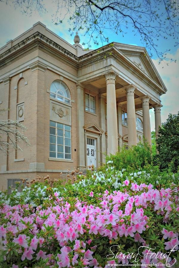 Fulton Chapel on the Ole Miss campus near the Lyceum Building.