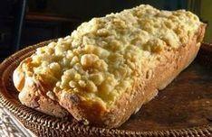 CUCA GAÚCHA ===== Tempo de Preparo: 45 min Ingredientes: - 500 g de farinha; - 1/2 xícara de açúcar; - Duas colheres de fermento biológico; - Duas colheres de banha ou manteiga; - Noz-moscada a gosto; - Dois ovos; - Requeijão; - Sal a gosto; - Leite puro ou misturado e água a gosto. (Para…