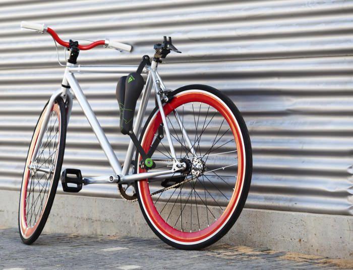 Seatylock la selle de vélo devenant antivol - Blog Esprit Design