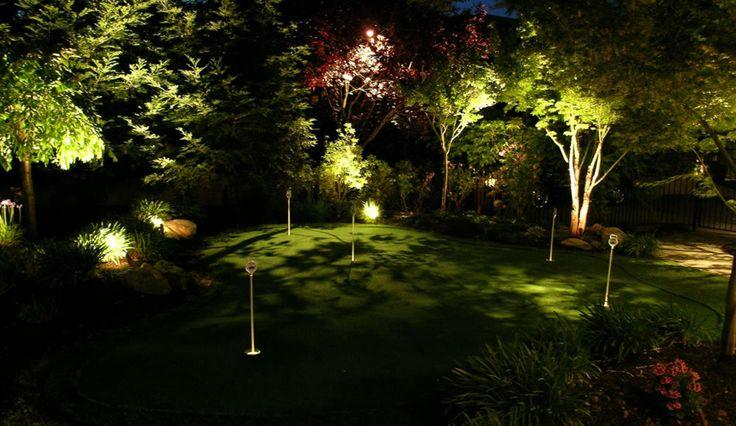 Latest Danville Pleasantville Landscape Lighting by Artistic Illumination Idea - Simple landscaping lights Beautiful
