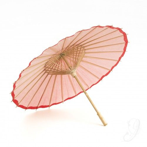 Rode parasol - Bruiloft - In Style Styling & Decoraties