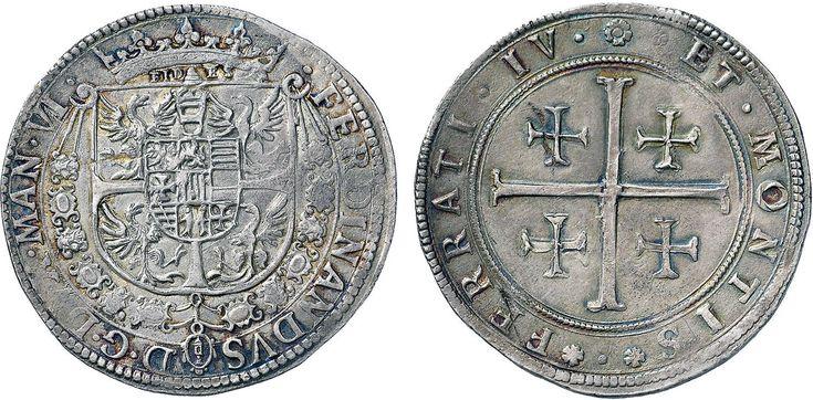 NumisBids: Nomisma Spa Auction 50, Lot 118 : MANTOVA Ferdinando Gonzaga (1612-1626) Tallero – CNI 100; Bi. 34 AG...