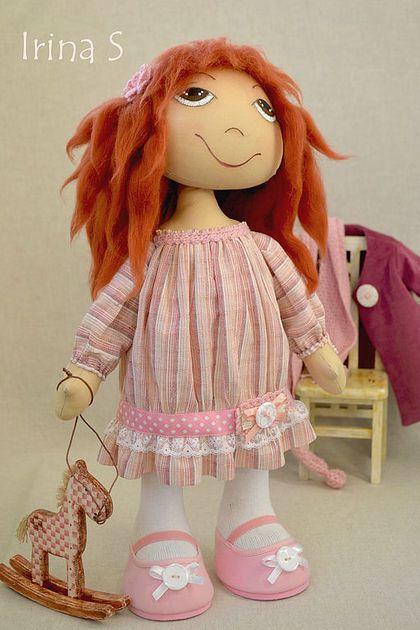 для АЛИНЫ - интерьерная кукла,текстильная кукла,текстильная игрушка,авторская кукла