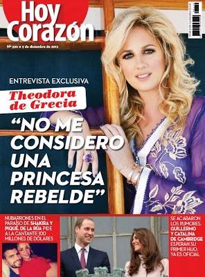 "Shakira en la revista ""Hoy Corazón"" de esta semana (Cataluna, España)"