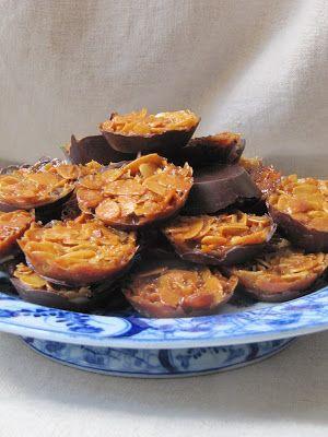La cuisine d'ici et d'ISCA: Florentins aux amandes et aux cacahuètes