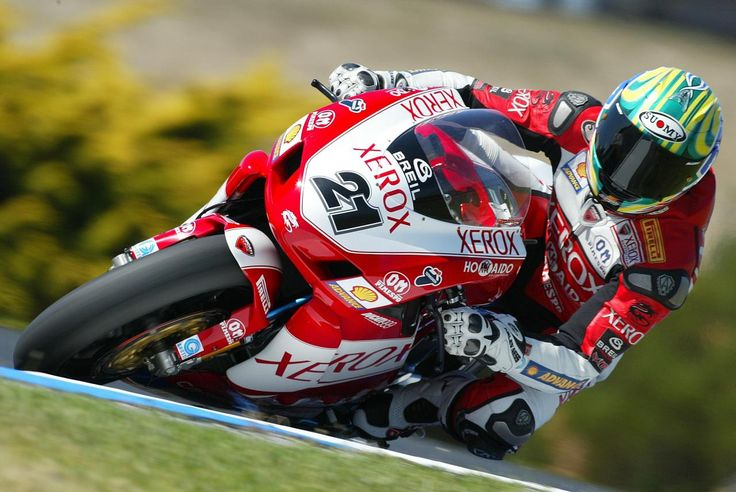 Troy Bayliss at Phillip Island Grand Prix Circuit