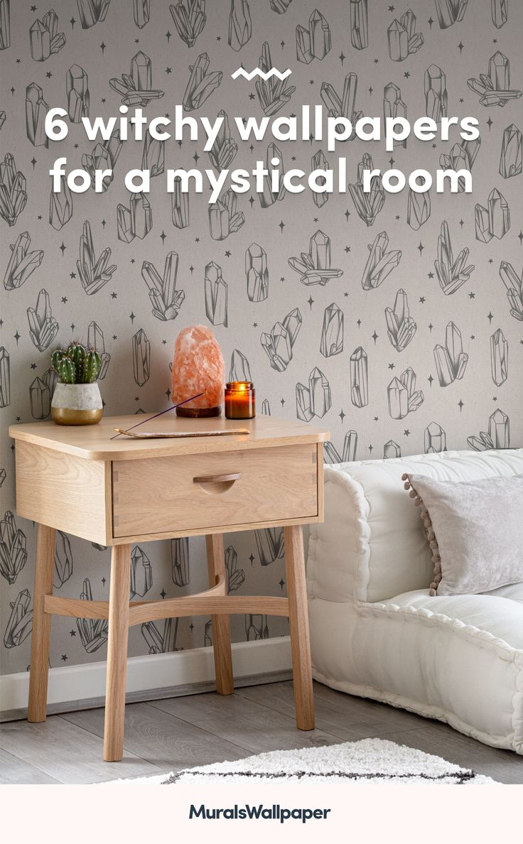 Styling your space with new spiritual decor and magical accessories? This collection of witchy wallpapers with tips and ideas for a chilled-out aesthetic will provide some bewitching inspiration for your own mystical room. Decor, World Map Wallpaper, Meditation Corner, Daybed In Living Room, Witchy, Wallpaper, Witchy Wallpaper, Mural Wallpaper, Spiritual Decor