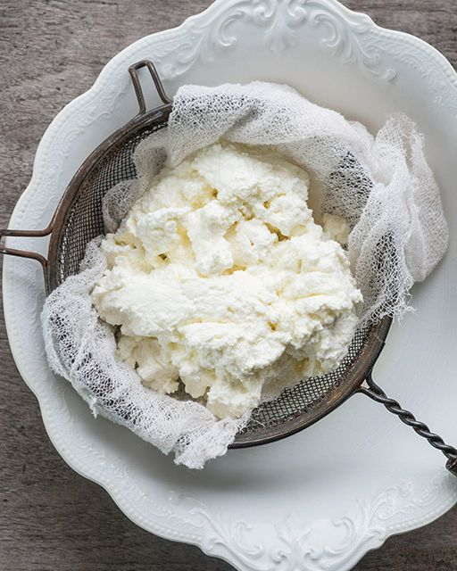 Homemade Fresh Ricotta - There's NOTHING like homemade ricotta -- and it's SO easy! #sweetpaul