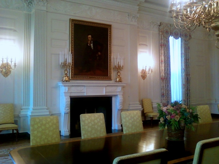 Lovely Pictures Of the White House Rooms