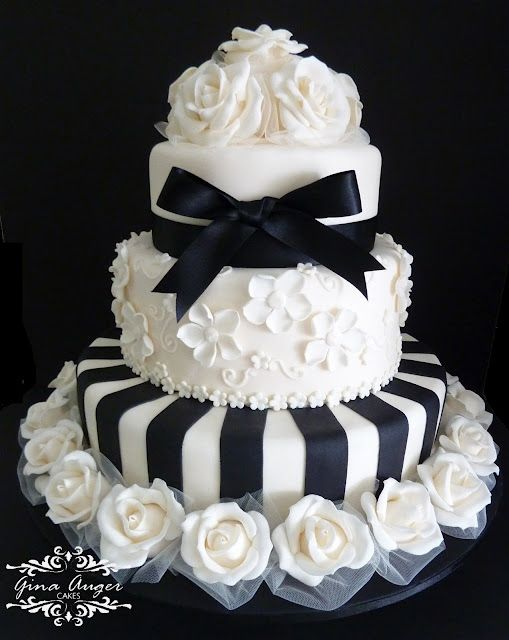 wedding cakes with bells 212 best black amp white cakes images on 25978