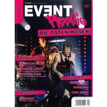 #EVENT ROOKIE - das #Magazin für #Stage und #Event für #Veranstalter und deren #Ausrüster : Titelthema: Die Toten Hosen mit ihrer aktuellen Tour.