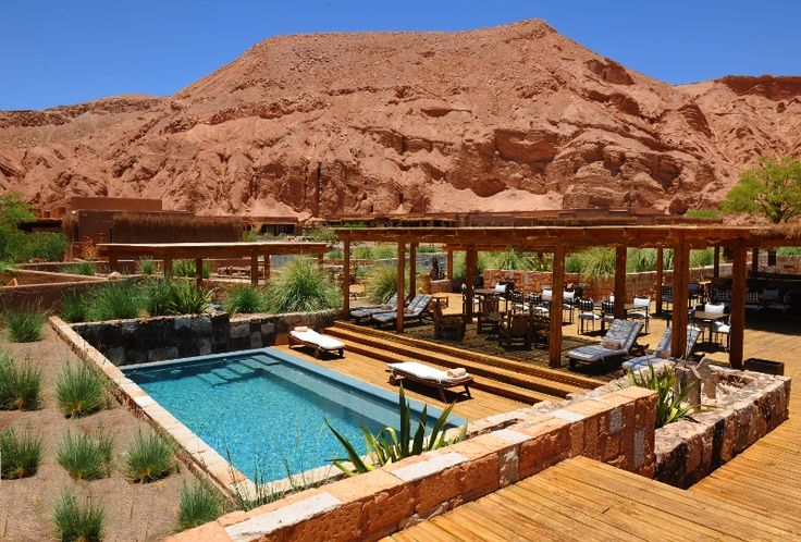 One of the many stunning properties we love to stay at, Alto Atacama Lodge.