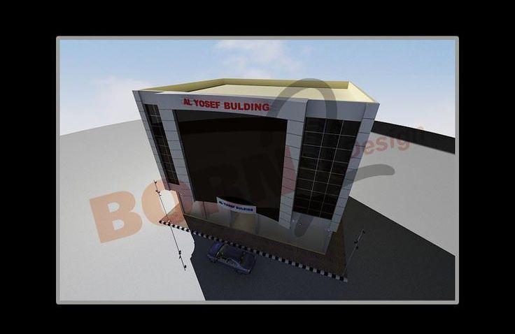 تصميم واكساء لبناء اليوسف في سوريا