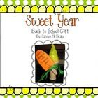 {FREEBIE} This is a GREAT back to school gift for your students.  You can find the ice cream bubbles at Dollar Tree.