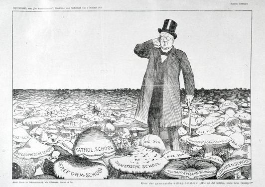 De Schoolstrijd - De Lager-onderwijswet van 1857