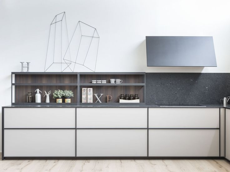 Fitted kitchen without handles XP by Zampieri Cucine design Stefano Cavazzana