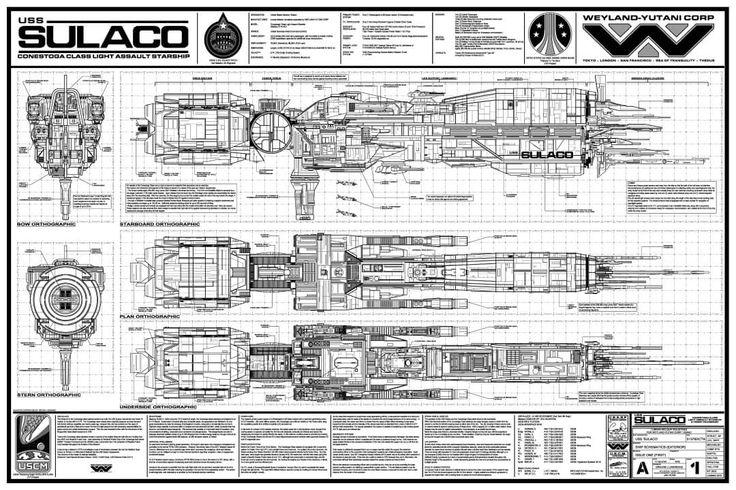 Aliens.   Raumschiff, Schiff, Science fiction