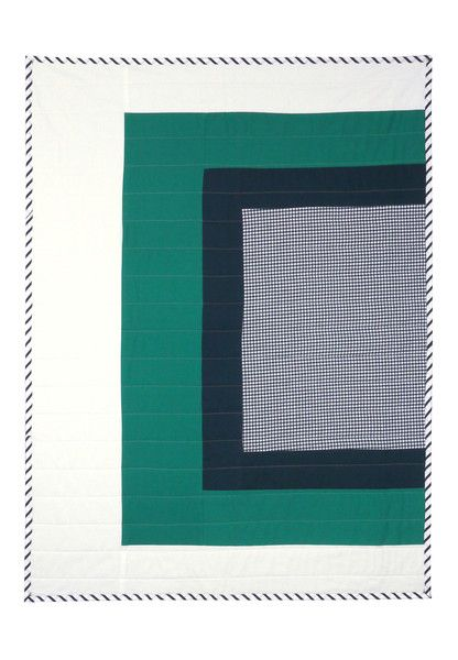 Modern Baby Quilts Inspired by Josef Albers