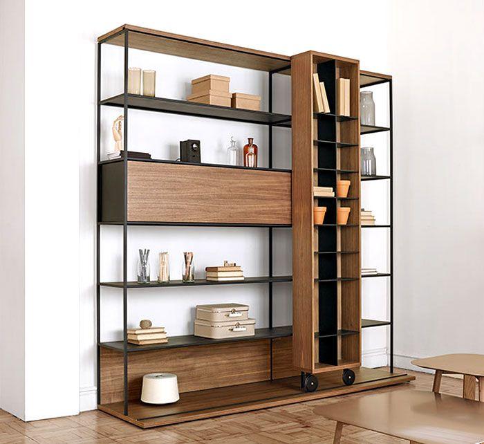 // Literatura Open Bookcase by Vicent Martínez for Punt Mobles