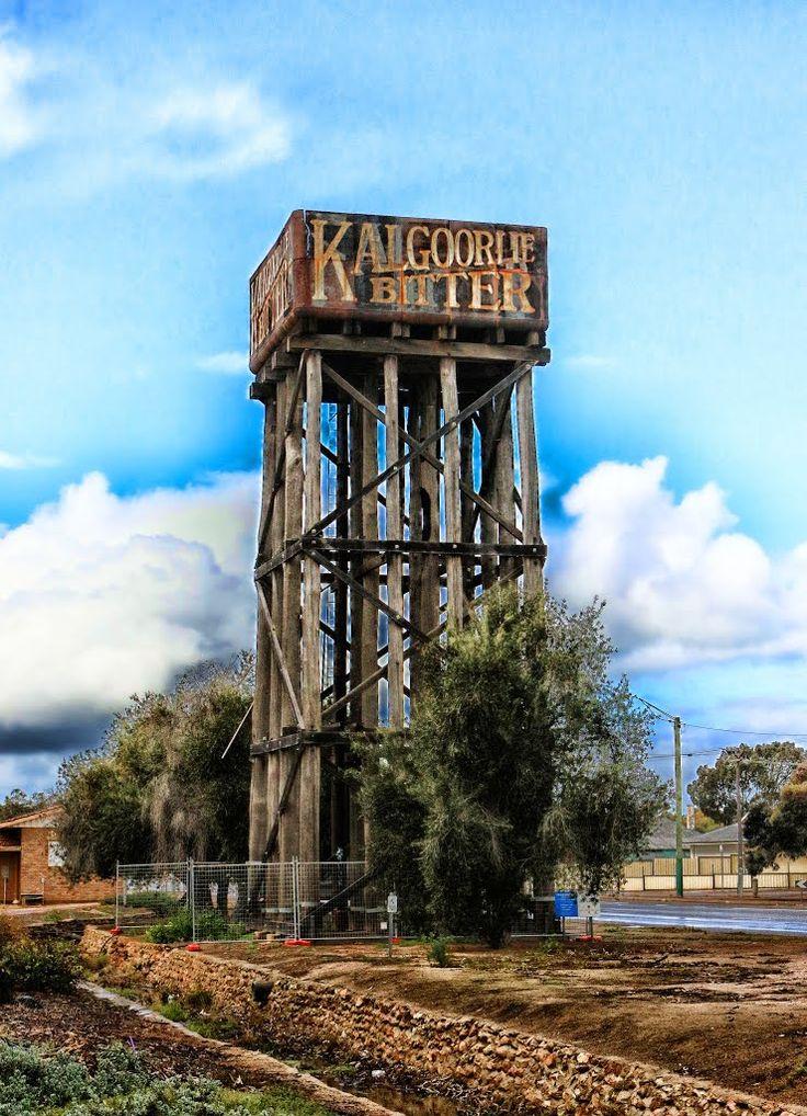 Abandoned Railway Water Tower Great Eastern Highway