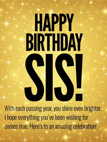 Happy Birthday Sister Quotes Delectable 569 Best Birthday Wishes Images On Pinterest  Birthdays Metallic
