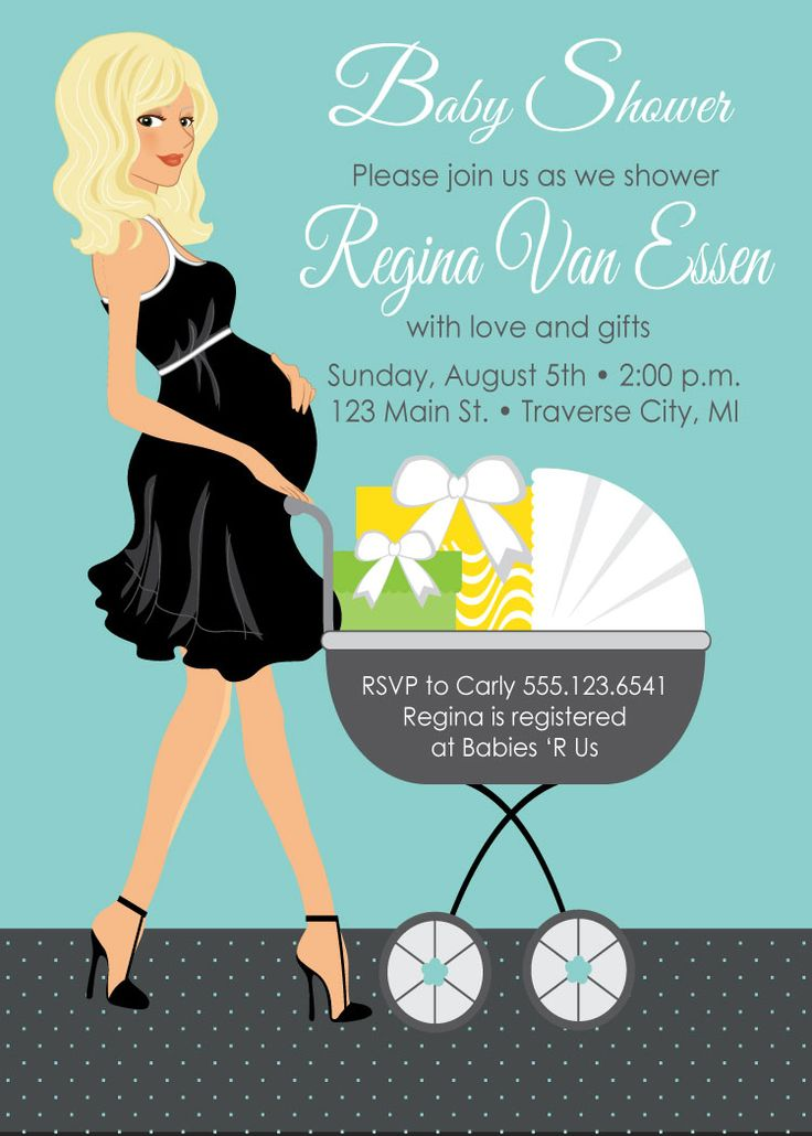 50 best baby shower invites images on pinterest baby shower