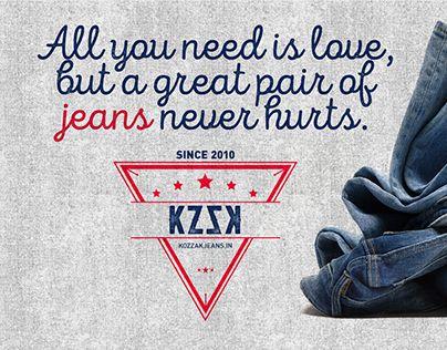 "Check out new work on my @Behance portfolio: ""Kozzak Jeans"" http://be.net/gallery/35303601/Kozzak-Jeans"