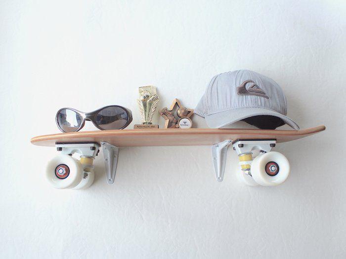 1001 ides pour transformer sa planche en tagre skateboard skateboard regale kinderzimmer - Skateboard Regal Kinder Schlafzimmer