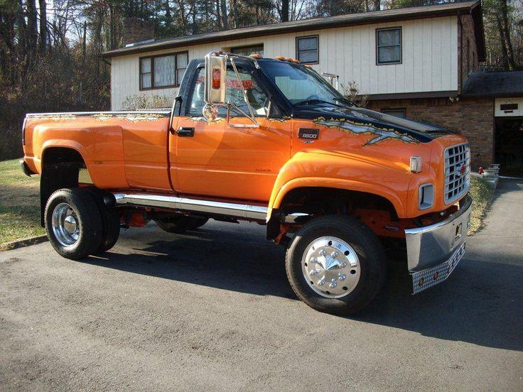 Custom Kodiak Trucks | 1998 Custom GMC Kodiak Monster Show ...