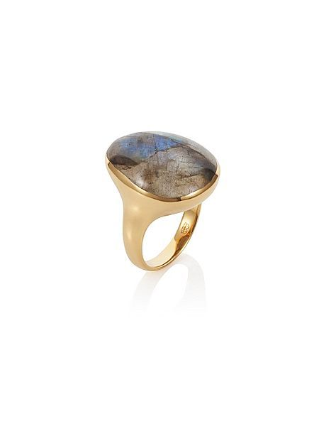 Caroline Creba 18ct Gold Plated Sterling Silver 12ct Labradorite £38 #houseoffraser