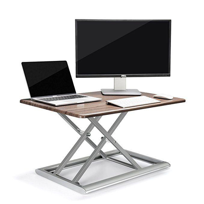 Upergo Standing Desk Converter Height Adjustable Sit Stand Up Desk 30inx20in Aluminum Mad Sit Stand Desk Adjustable Standing Desk Converter Best Standing Desk