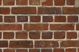 Use a sponge to paint your wall to look like brick.
