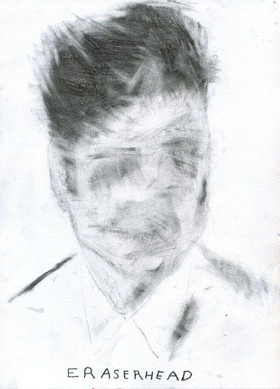 Eraserhead Artist: Noora Isoeskeli, 2011. Drawing, 21 x 29.7 cm.