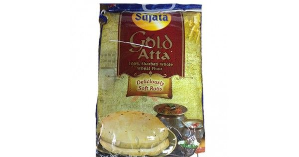 Sujata Gold Atta (wheat Flour) is made of 100% Whole wheat flour. Buy sujata wheat flour online @ Maxsupermart.com