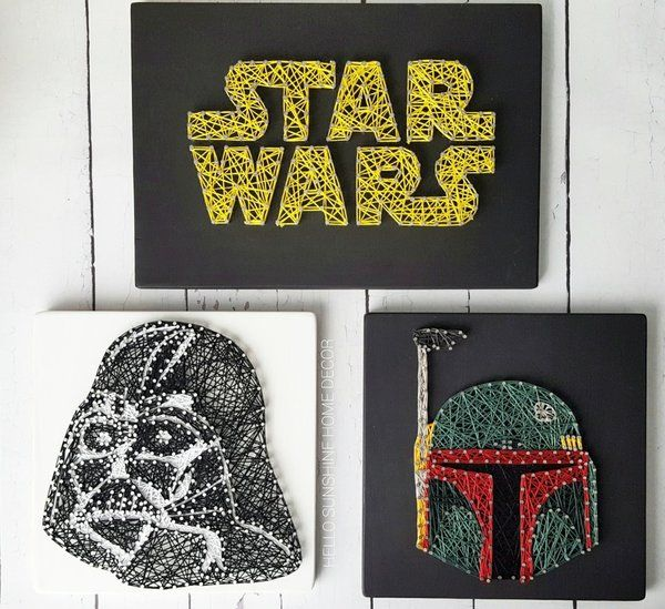 Star Wars String Art