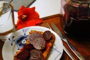 Syltet rødbeder med mindre sukker