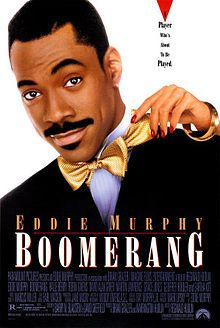 "Boomerang 1992. 2 fave quotes: #1: ""Marrrrcus!"" (R.I.P. Eartha Kitt) #2: ""You got to co-ORdinate!"" *flashes Garanimals style suit* haha. LOVE this player gets his comeupance story. Robin Givens is great here as the maneater who gives Eddie Murphy's character a dose of his own medicine so-to-speak. Great supporting cast. Lots of laughs. Amazing soundtrack. This movie taught me about hammer toes; having hammertime in your shoe is not cute. Care for your tootsies, ladies. <3"