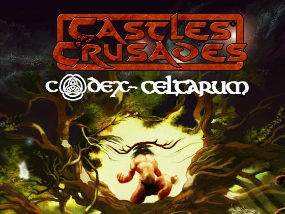Castles & Crusades Codex Celtarum by Stephen Chenault, via Kickstarter.