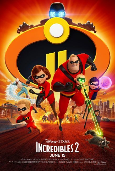incredibles 2 movie poster family of supers poster pixar fest at disneyland starts today