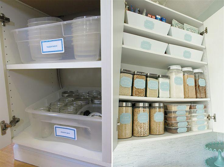 """Série """"Organize cada cômodo"""": ideias para organizar a cozinha. Dicas e soluções para organizar a cozinha!"""
