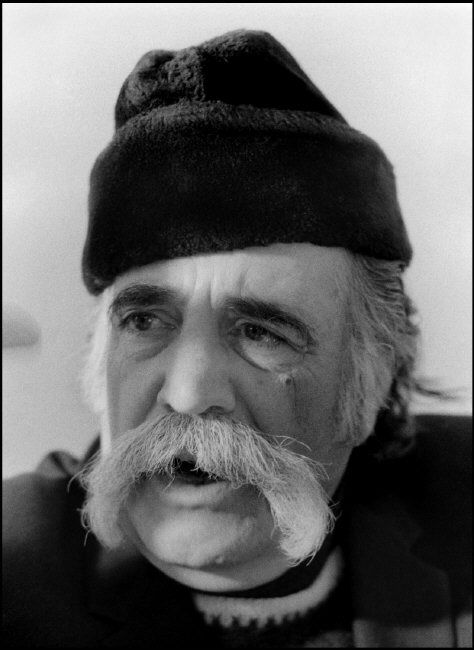 William Saroyan Paris France 1973 by Ara Guler Magnum Photos
