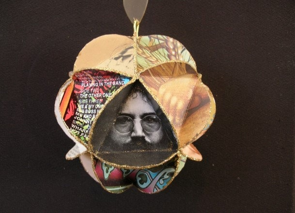 Grateful Dead Album Cover Ornament Made Of Record by CraftySueShop, $25.00