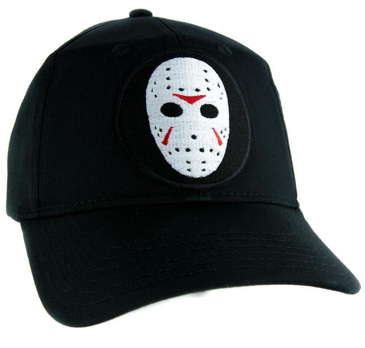 Hockey Mask Friday the 13th Hat Baseball Cap Horror Clothing Jason Voorhees