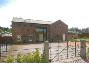 A four bedroom barn conversion located between the Cheshire villages of Lymm and Thelwall