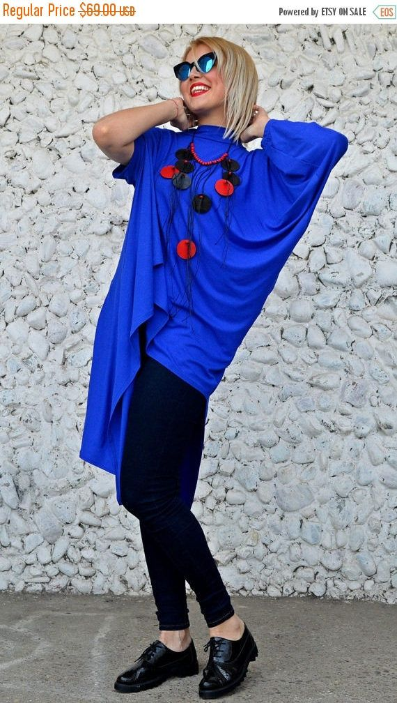 PURPLE SALE 25% OFF Extravagant Blue Top / Royal Blue Blouse / https://www.etsy.com/listing/515796145/purple-sale-25-off-extravagant-blue-top?utm_campaign=crowdfire&utm_content=crowdfire&utm_medium=social&utm_source=pinterest