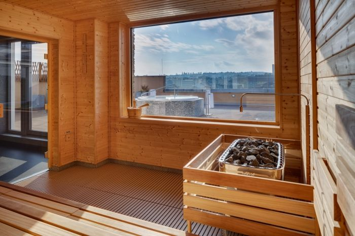 Finská sauna v hotelu Avanti - Sauna.cz