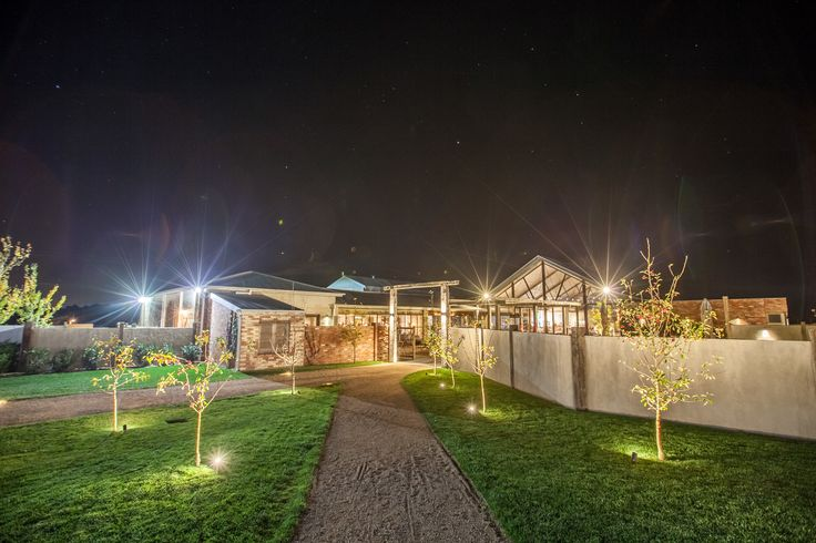 Nighttime view #yarravalley #cafe #restaurant #privatespace #lights #meletos