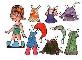 Victoria Recortable paper doll from Spain / flickr.com *  The International Paper Doll Society by Arielle Gabriel for all paper doll and paper toy lovers. Mattel, DIsney, Betsy McCall, etc. Join me at ArtrA, #QuanYin5  Linked In QuanYin5 YouTube QuanYin5!
